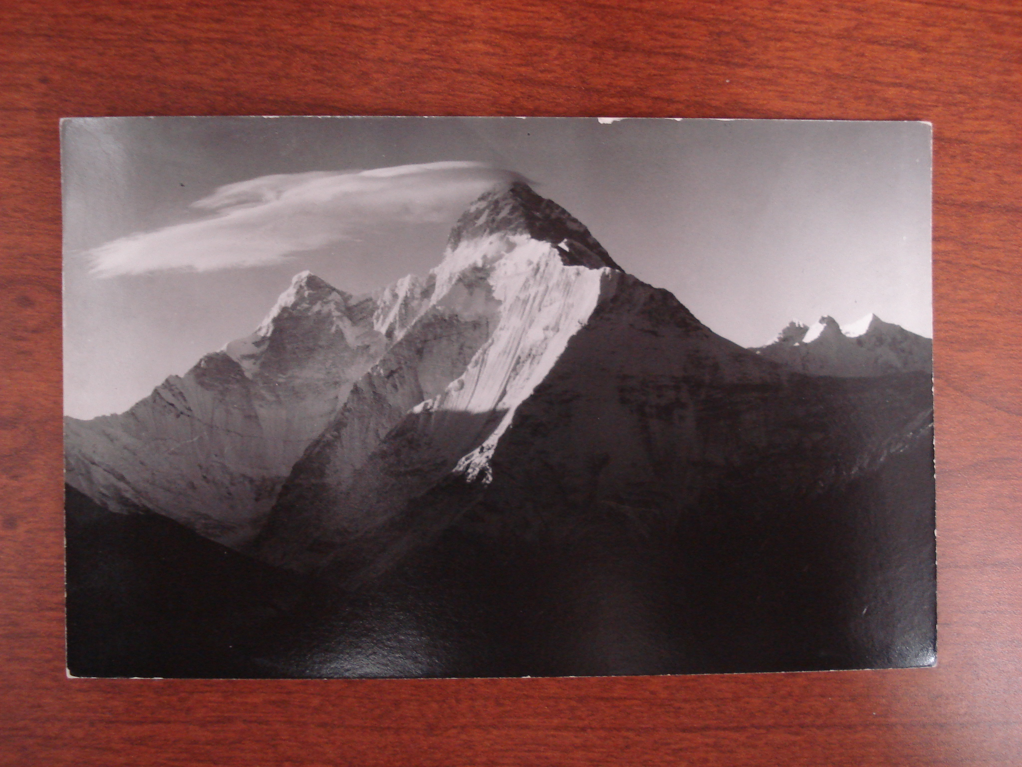 Nanda Devi postcard (front), featuring the mountain