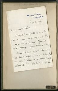 Whymper's letter
