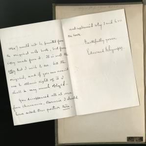 Whymper's signature